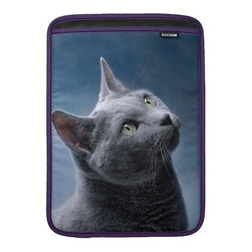 Cat Portrait Sleeves For MacBook Air