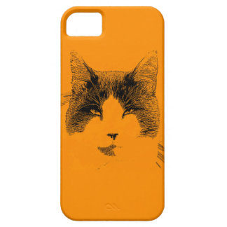 Cat Portrait iPhone 5 Cases