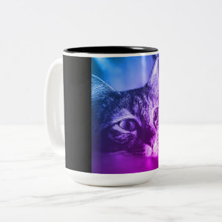 cat portrait mug