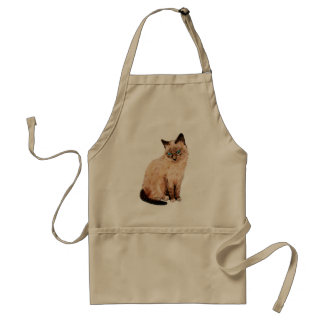 Cat Portrait Standard Apron