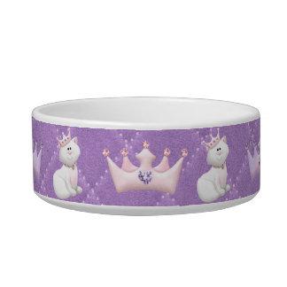 Cat Princess Cat Bowls
