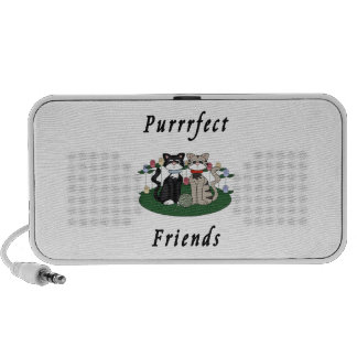 Cat Purrrfect Friends Mini Speakers