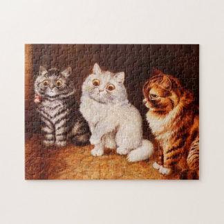 Cat Puzzle, Louis Wain Cats Puzzles