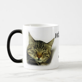 Cat quote mug(color changing) magic mug