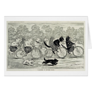 Cat Race Hyde Park Card