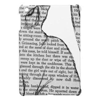 cat reading book sticker cover for the iPad mini