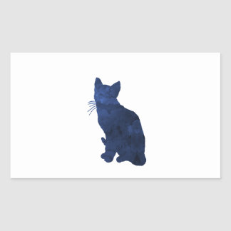 Cat Rectangular Sticker