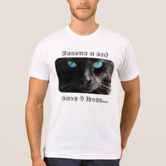 Cat Rescue: rescue a cat & save 9 lives Tees
