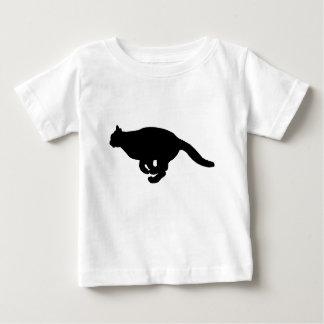 Cat Running Baby T-Shirt