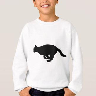 Cat Running Sweatshirt