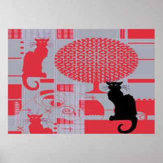 Cat s Dream Poster