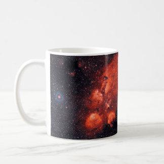 Cat's Paw Nebula NGC 6334 Basic White Mug