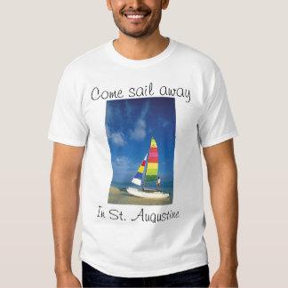 Cat sailing T Tees