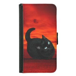 Cat Samsung Galaxy S5 Wallet Case