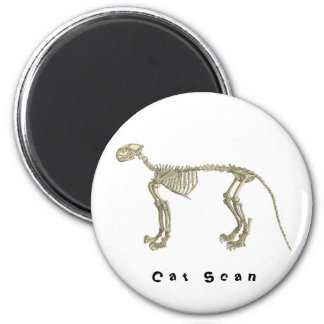 Cat Scan Skeleton Magnet