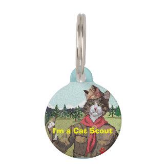 Cat Scouts Cat ID Tag