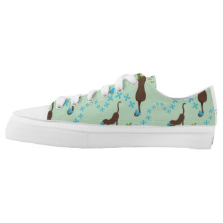 Cat Shoe Printed Shoes