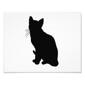 Cat Silhouette Art Photo