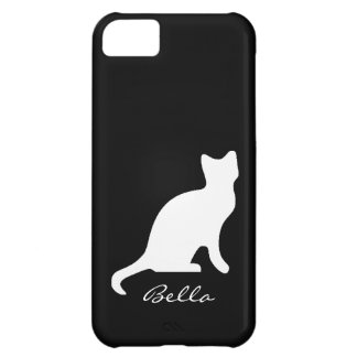Cat Silhouette Customizable iPhone5 Case