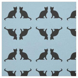 Cat Silhouette Fabric