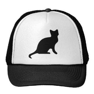 Cat Silhouette Trucker Hat