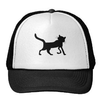 Cat Silhouette Trucker Hats