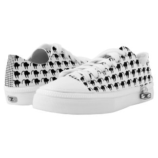 cat silhouette low tops