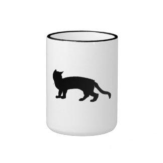 Cat Silhouette Mugs