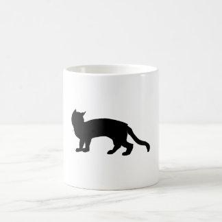 Cat Silhouette Coffee Mugs