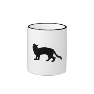 Cat Silhouette Coffee Mug
