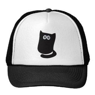 Cat Sitting Bundle Black Cash Eyes Blue Cap