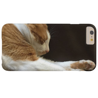 Cat sleeping on sofa barely there iPhone 6 plus case