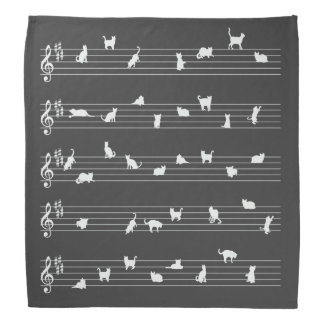 Cat Song Bandana