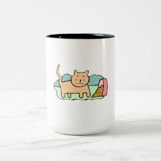 Cat Spilled Food Mug
