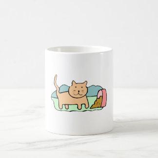 Cat Spilled Food Mugs