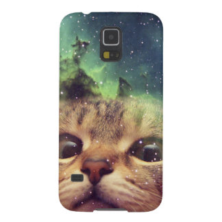 Cat Staring into Space Galaxy S5 Cover
