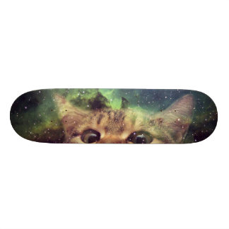Cat Staring into Space Skateboard