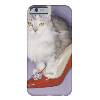 Cat stepping into high heel barely there iPhone 6 case