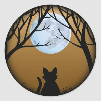 Cat Stickers Fun Halloween Cat Stickers Cat Lover