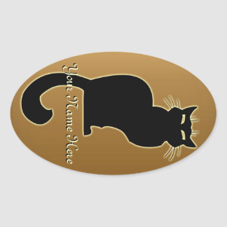 Cat Stickers Personalized Cat Stickers Cat Lover