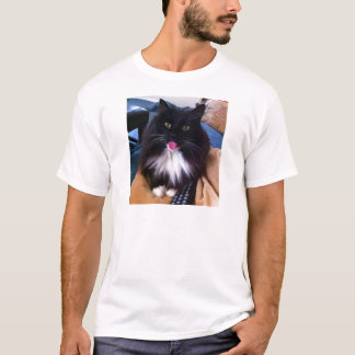 Cat sticking out Tongue T-Shirt