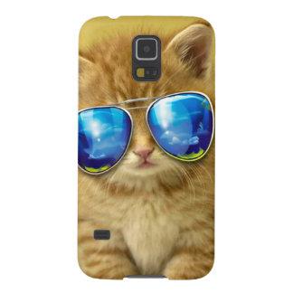 Cat sunglasses - cat love - pet - cute cats galaxy s5 cases