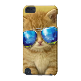 Cat sunglasses - cat love - pet - cute cats iPod touch (5th generation) case