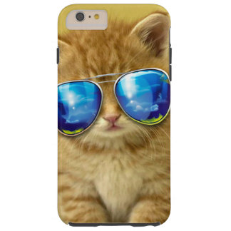 Cat sunglasses - cat love - pet - cute cats tough iPhone 6 plus case