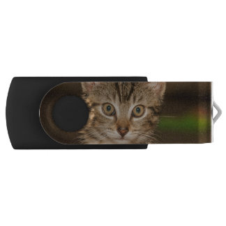Cat Swivel USB 2.0 Flash Drive