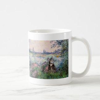 Cat (Tabby 2) - By the Seine Coffee Mug
