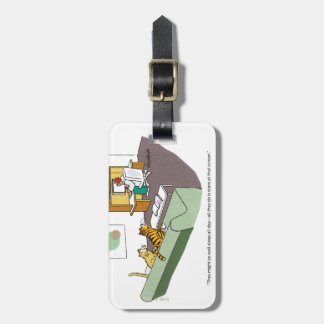 Cat Talk Luggage Tag