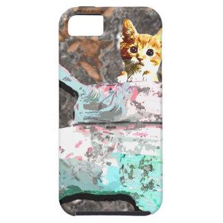 Cat Tank iPhone 5 Cases