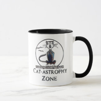 Cat-tastrophy Zone Mug