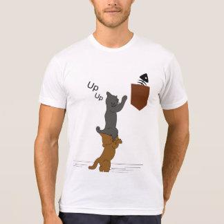 Cat teamwork T-Shirt
